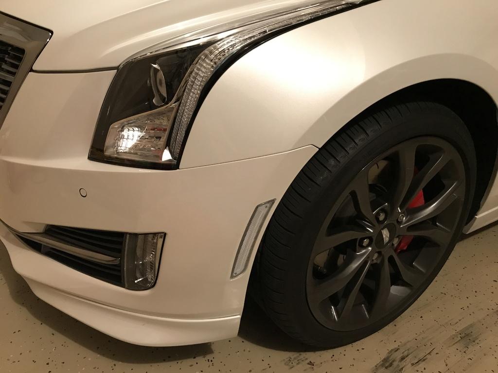 2015 Cadillac Ats Led Sidemarkers Smoked Clear Amber