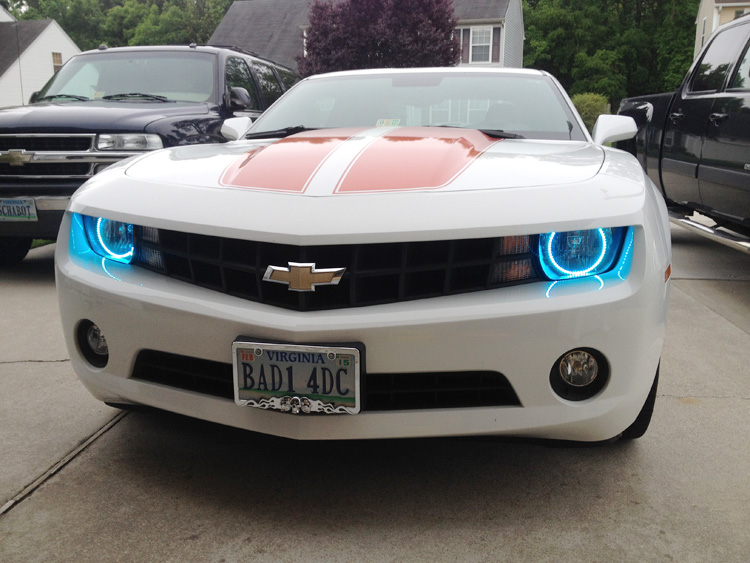 Angel Eyes For Camaro Autos Post