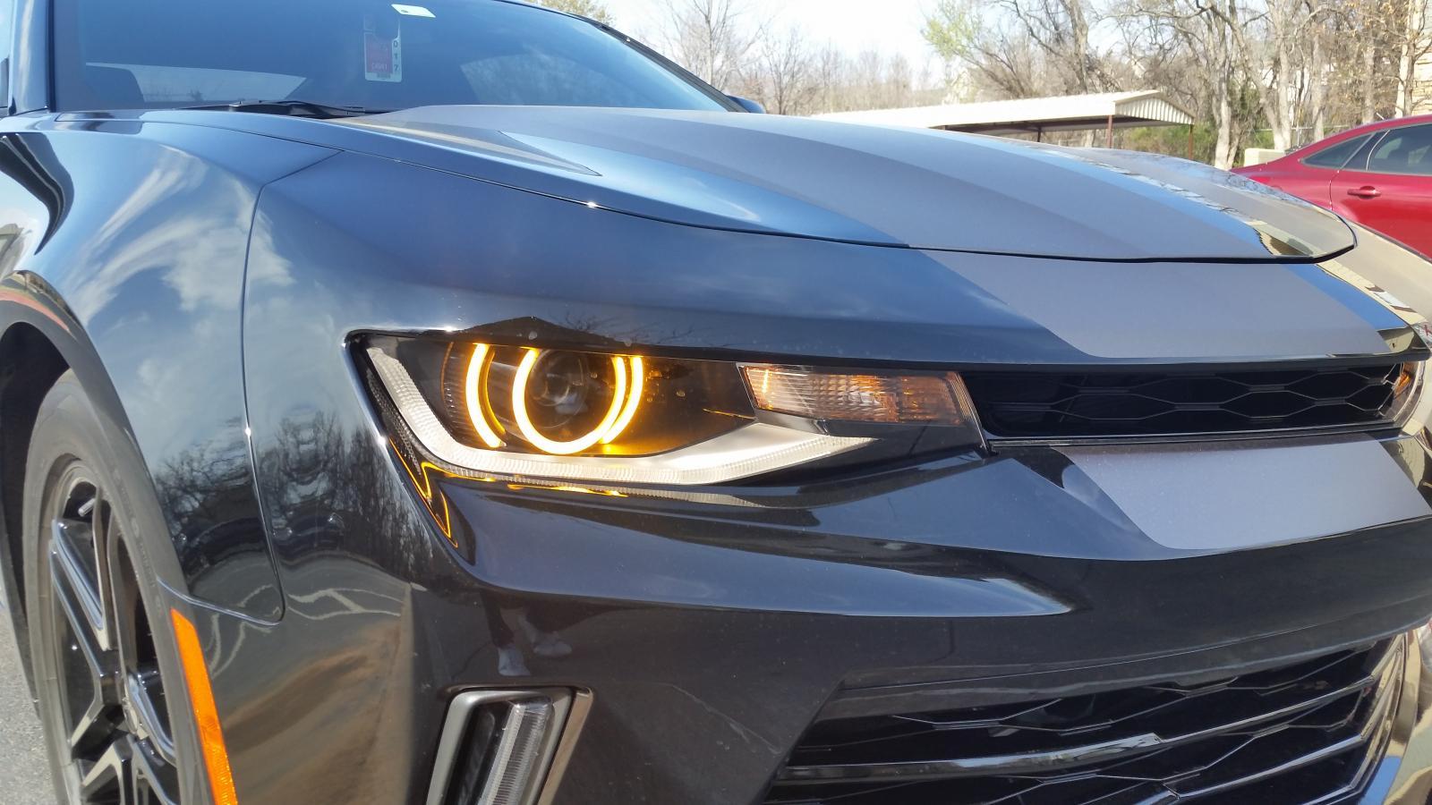Diode Dynamics 2016 2017 Chevy Camaro Premium Switchback Led Halos