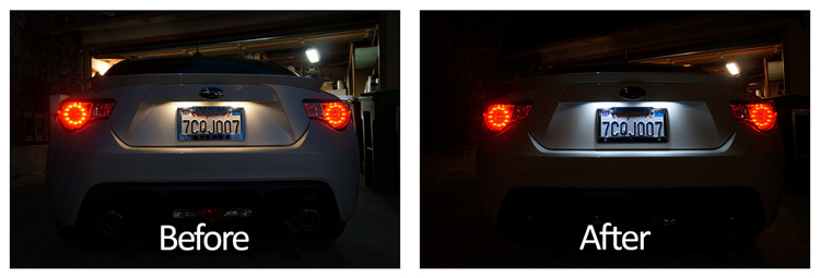 License Plate Leds Came Out Blue Page 2 Scion Fr S