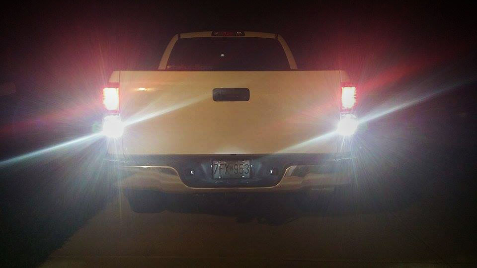 Toyota Tundra Reverse Backup Led Bulbs Plug Amp Play