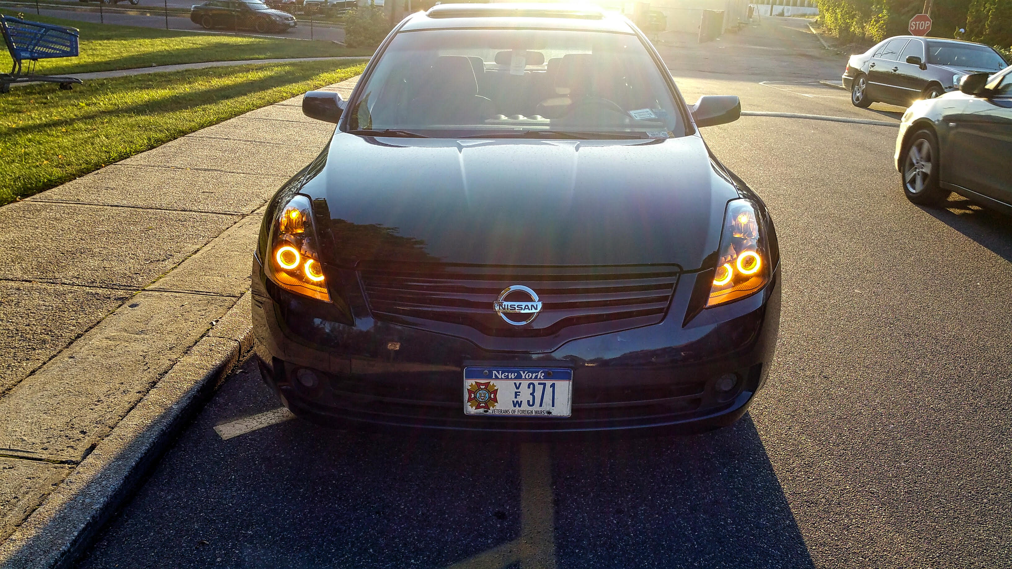 diode dynamics hdled halos for 2013 2015 nissan altima made in usa see install pics nissan. Black Bedroom Furniture Sets. Home Design Ideas
