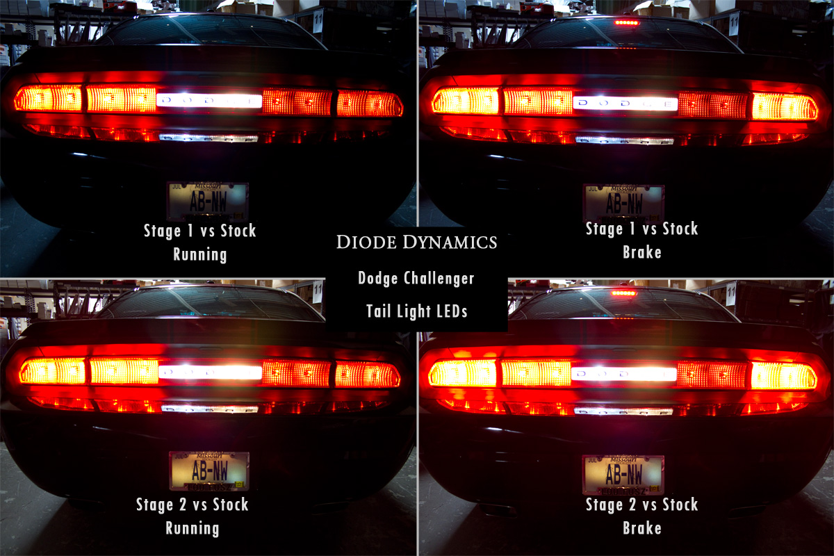 Dodge Challenger Tail Light Turn Signal Leds Plug Play Install See Comparisons Dodge Challenger Forum