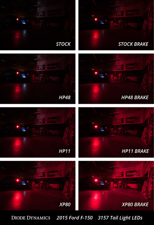 Tail Light Led Collage