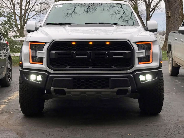 Diode dynamics 2017 ford raptor led fog lightbar brackets see capable of utilizing other lightbar manufacturers products aloadofball Choice Image