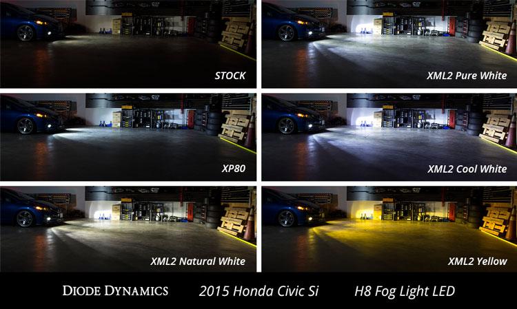 Honda Crz Fog Light Led Bulb Replacements Usa Made Slf