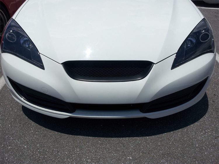 Pics Custom Blacked Out Headlights With Rgb Angel Eyes