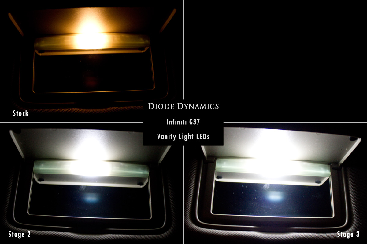 Vanity Light Conversion Kit : FS: G37 Coupe LED Conversion Kit! (upgrade your lights, great easy mod!) - MyG37