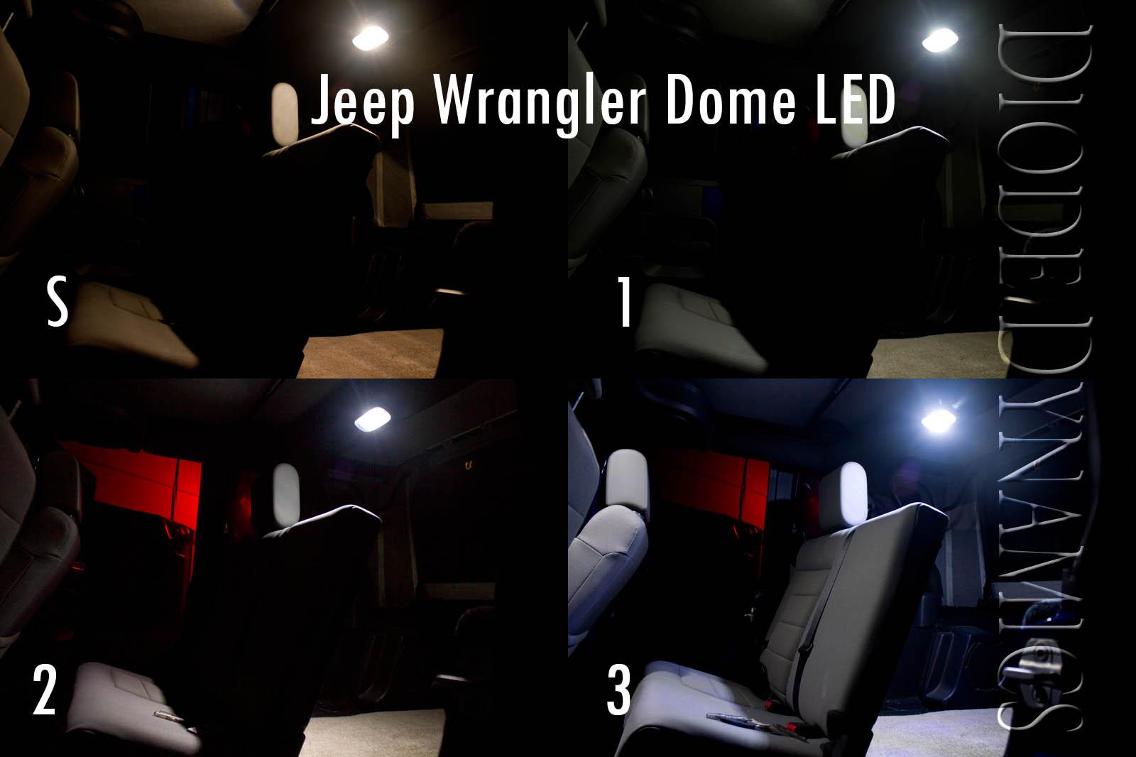 Fs 2010 2012 jk wrangler led conversion kit upgrade your lights great mod jeep wrangler forum for Jeep wrangler interior lighting
