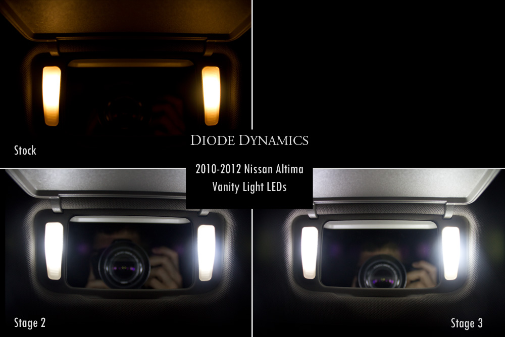 Vanity Led Kit : Nissan Forum - Nissan Altima LED Conversion Kit! Upgrade your lights, great mod! easy install!