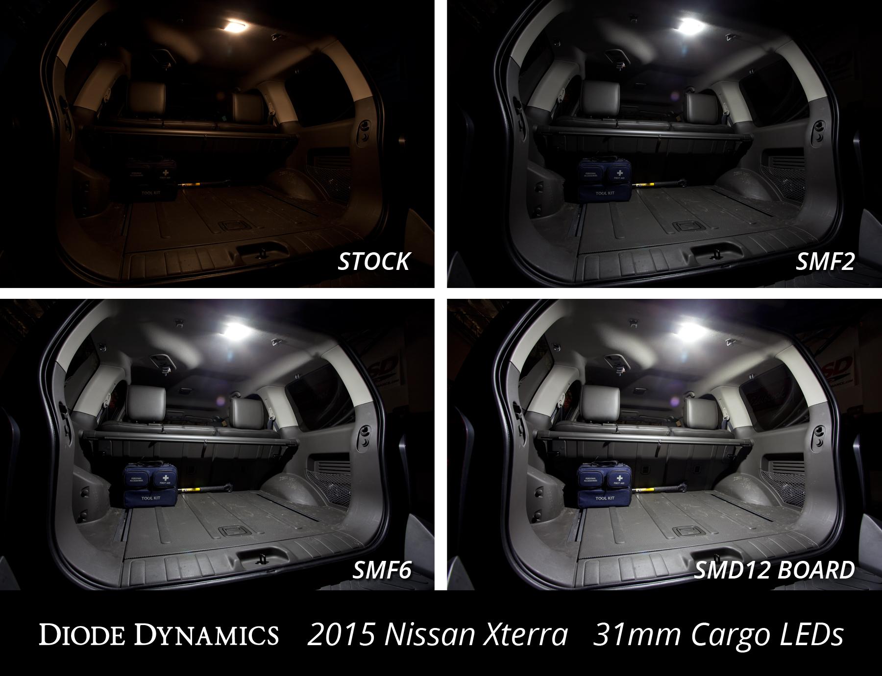 nissan xterra interior led lighting see installed comparison photos second generation nissan. Black Bedroom Furniture Sets. Home Design Ideas
