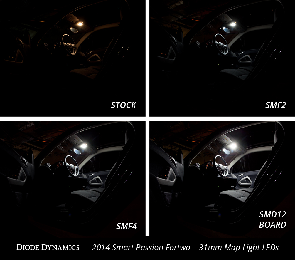 video how to install smart fortwo dome light leds see comparison photos smart car forums. Black Bedroom Furniture Sets. Home Design Ideas