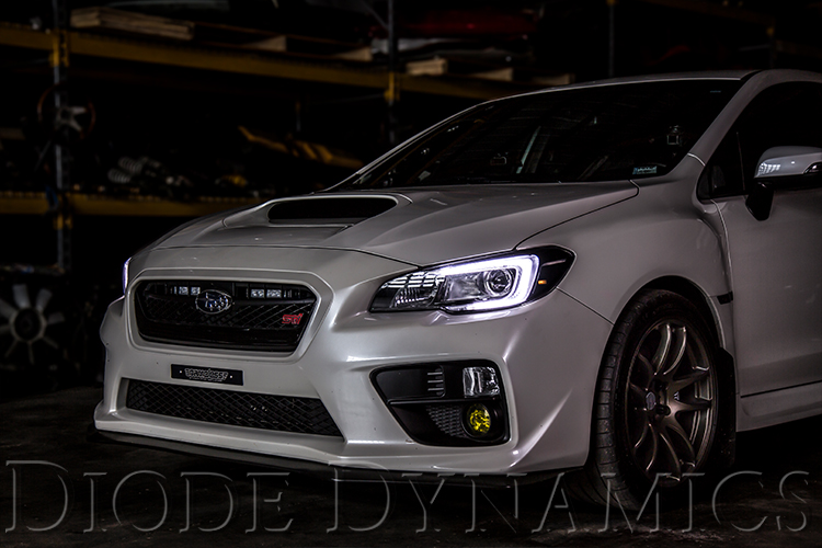 Subaru WRX//STi White LED Driving Light Kit for 2015