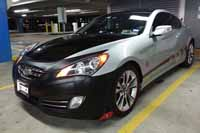 2010 Genesis Coupe with LED Turn Signals