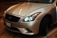 2012 Infiniti G37 Headlights